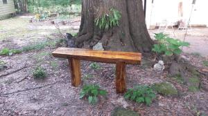 chainsaw bench